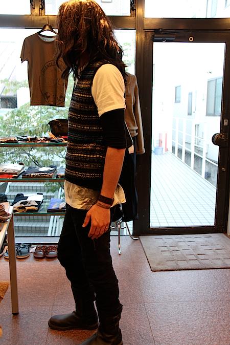 norikoike knit vest