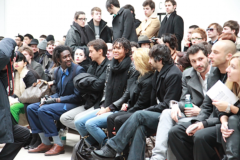 AYO ATTEND KRISVANASSCHE PARIS SHOW